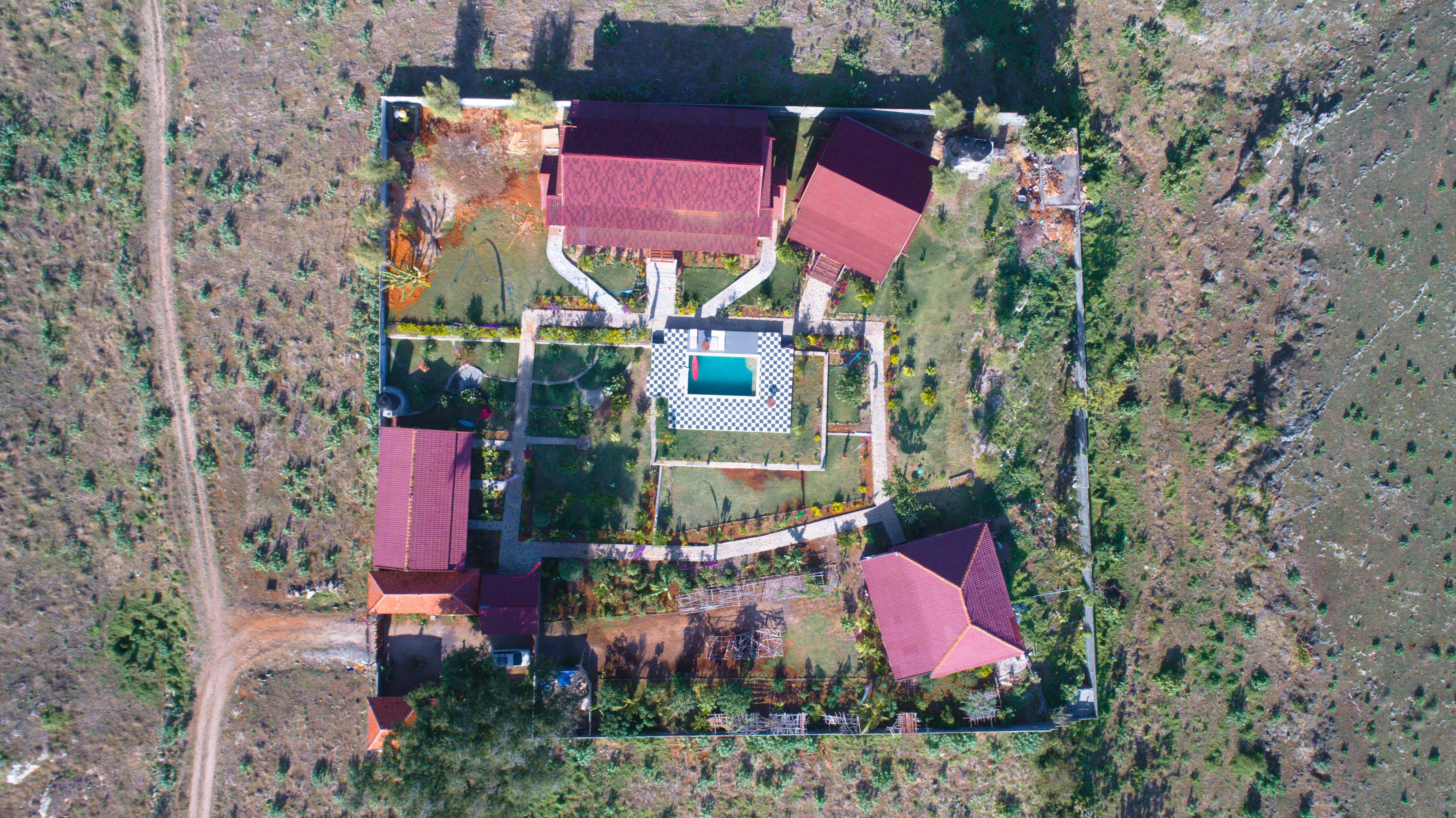 DRONE Shot – Lakey Peak Haven (1 of 1)